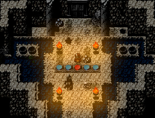 Flammenrätsel Bild 1